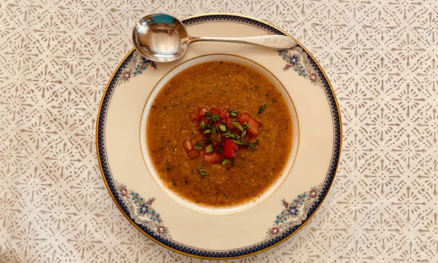 """Gazpacho from """"How to Cook a Wolf"""""""