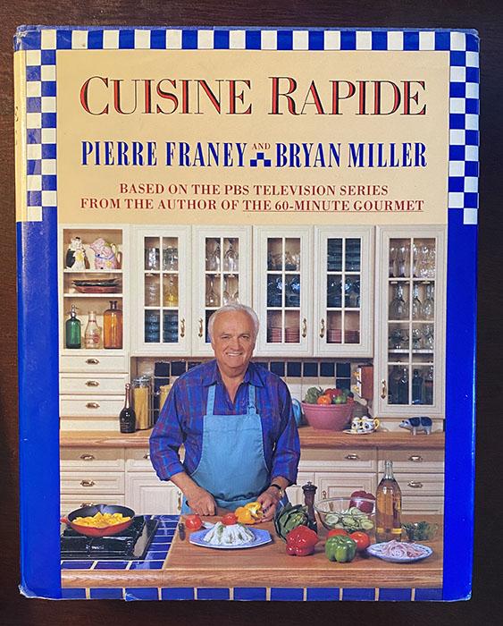 Cuisine Rapide Book Cover