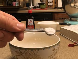 1/4 teaspoon of Cream of Tarter