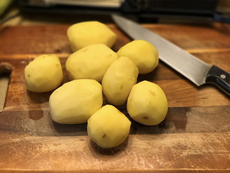 Potatoes for the Vichyssoise