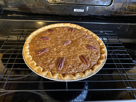 Pecan Pie Finished