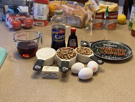Pecan Pie Ingredients