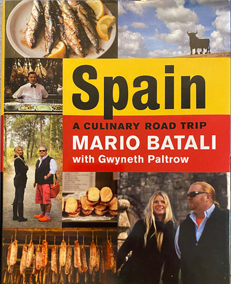 Spain: A Culinary Road Trip Book Cover