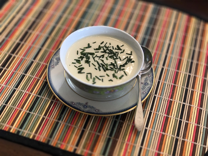 Vichyssoise with Chives